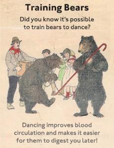 Bears dancers